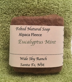 Photo of Eucalyptus Mint Handmade Felted Soap