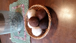 Set of 3 dryer balls