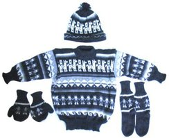 Alpaca 4 Piece Toddler Set
