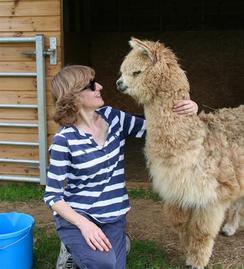 Swapping school for alpaca farm