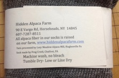 Photo of HAF Light Weight Alpaca Fiber Crew Socks