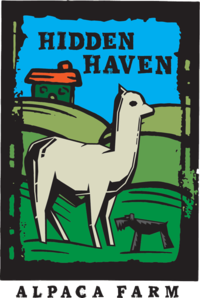Hidden Haven Alpaca Farm - Logo