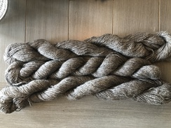 "Photo of Yarn, ""Victoria"" Grey Suri"
