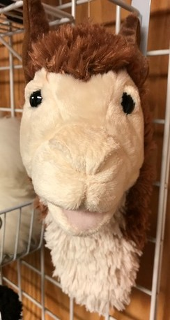 Photo of LLama Puppet