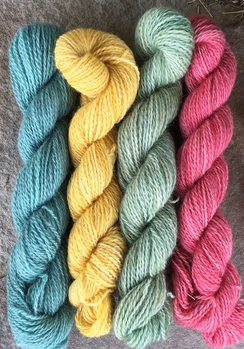 Photo of Mini Skein Set - Teacup Rose