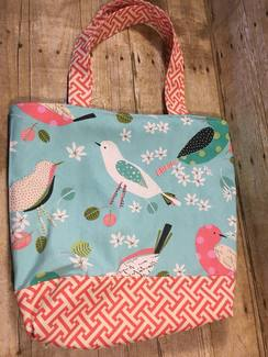 BIRDS! Tote or Project Bag