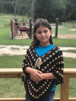 Photo of Girl's Poncho