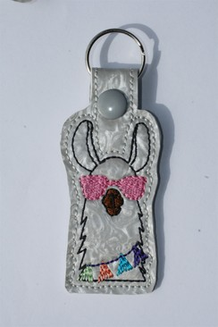 Photo of Llama Key Fob - Pink