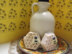 Photo of Soapy Goats Honey Vanilla Soap