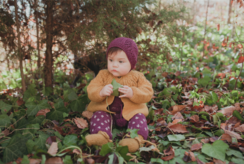 Photo of MIOU KIDS Lutin Overall, Aubergine