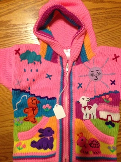 Childrens sweater