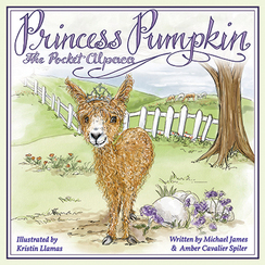 Photo of Princess Pumpkin the Pocket Alpaca Book