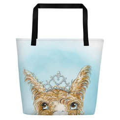 Princess Pumpkin Tote Bag