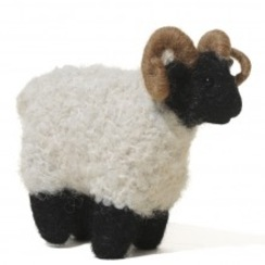 Photo of Felted Scotish Blackface Ram