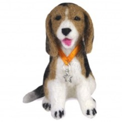 Photo of Felted Charlie Beagle