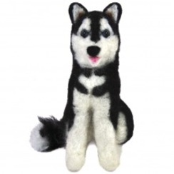 Photo of Felted Siberian Husky