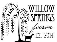 Willow Springs Farm - Logo