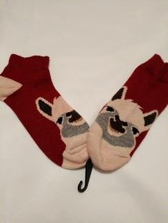 Photo of Adordable Alpaca Face Socks
