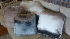 Alpaca Felt No-Sew Pillows