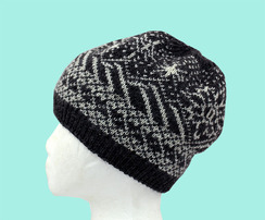 Photo of Alpaca Slouch Beanie Mountain Eve Hat