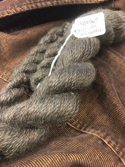 "Photo of yarn ""Worthy"" w/carbonized bamboo"