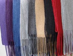 Photo of 100% Baby Alpaca Scarf Solid Colors