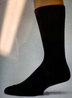 Wide Ribbed Alpaca Socks