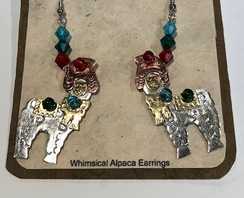 Photo of Alpaca Earrings