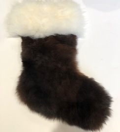 Photo of Stocking Made Of Alpaca Fleece