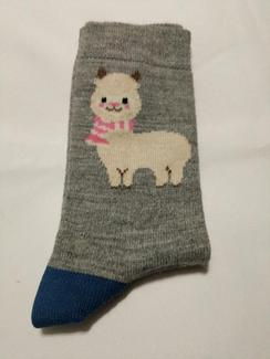 Photo of Cutie Alpaca Crew Sock