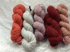 Photo of Handspun Yarns