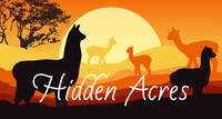 Alpacas of Hidden Acres - Logo