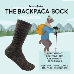Photo of Backpaca Sock