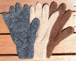 All Terrain Alpaca Gloves - Size MEDIUM