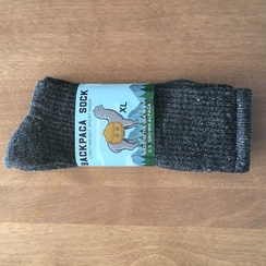 Photo of Alpaca Backpaca Socks