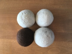 100% Alpaca Fiber Dryer Balls