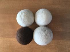 Go Green with 100% Alpaca Dryer Balls