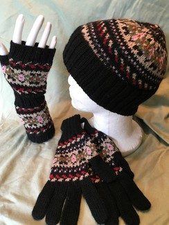 Fingerless Gloves - Marguerite
