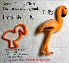 Needle Felting Basic and Beyond