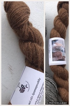 Tennessee Whiskey 100% alpaca yarn