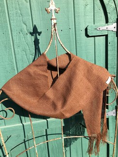 Photo of Brown Suri scarf
