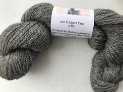 Monica Grey 100% alpaca yarn