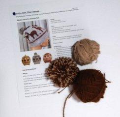 DIY Alpaca Beanie Kit