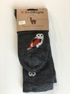 Photo of Alpaca Bamboo Wild Animal Socks (RM)