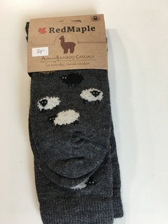 Photo of Alpaca Bamboo Sheep Socks (RM)