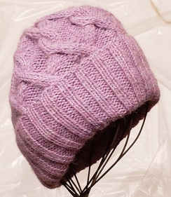 Cable Alpaca Hat