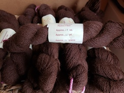 Chocolate yarn