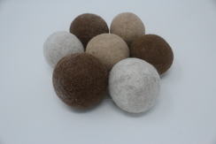 100% Alpaca Dryer Balls (3 pack)