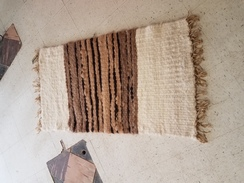 Pretty alpaca rug
