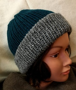 Photo of Reversible Knit Hat (3), Alpaca & Merino